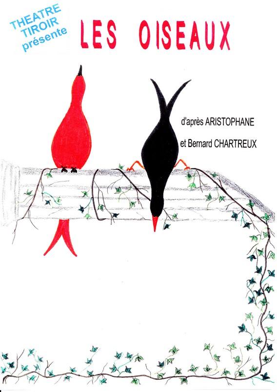 Compagnie théatre tiroir les oiseaux Aristophane