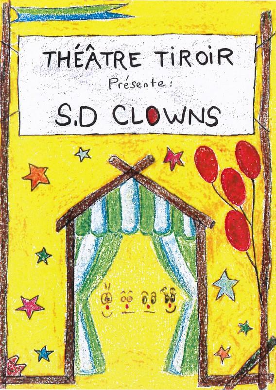 Compagnie Théâtre Tiroir SD Clowns Affiche spectacle